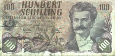 100 Shilling 1.7.1960