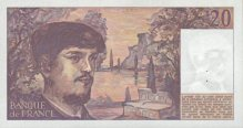 20 francs (Debussy) - Type 1980