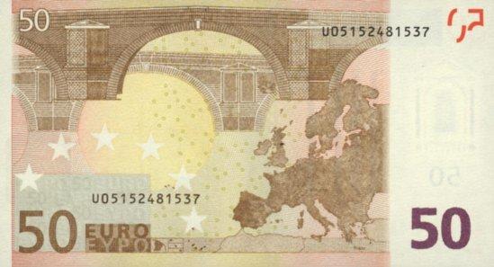 billet de banque de 50 euros