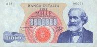 1000 Lires 1962-1968