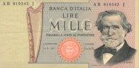 1000 Lires 1969-1981